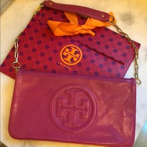 Authentic Tory Burch Reva shoulder bag/clutch